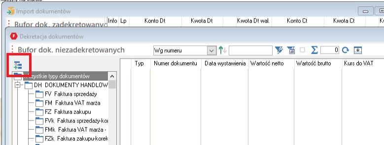 wczytywanie dokumentów w Wapro